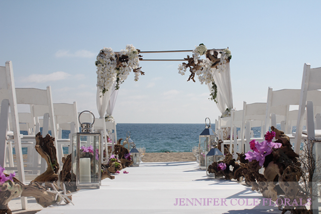 Beautiful_beach_wedding_arbor_Sunset_Restaurant - photo#26