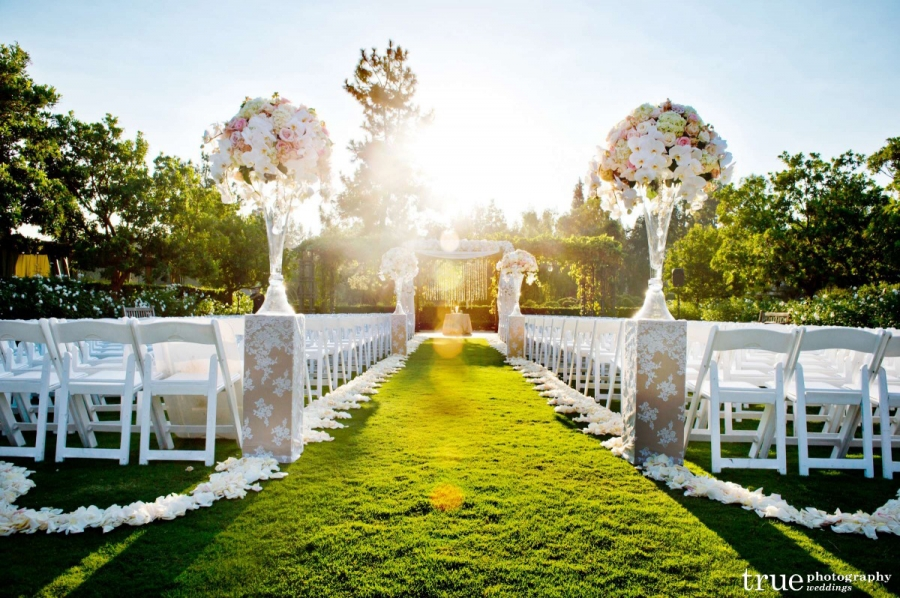 Aragon Lawn Rancho Bernardo Inn Wedding